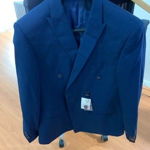 Other - Men's Double Breasted Suit 42R jacket, 36 pants
